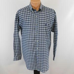 Ralph Lauren long sleeve button down shirt. M